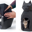 A DIY Cat House made of Paper - PULPET