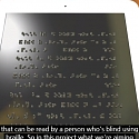 (Video) Dynamic Touchscreen Could Display In Braille