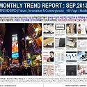 Monthly Trend Report - September. 2013 Edition